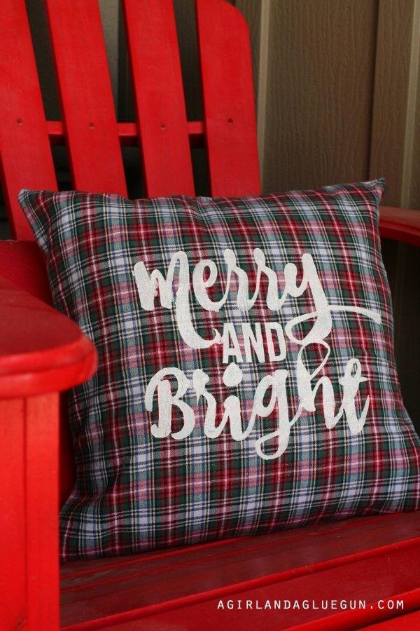 Create a pillow from a flannel shirt at agirlandagluegun.com