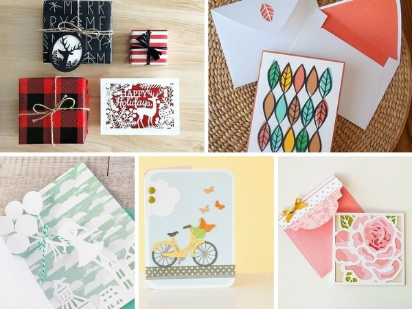 Cricut cards from Kingston Crafts