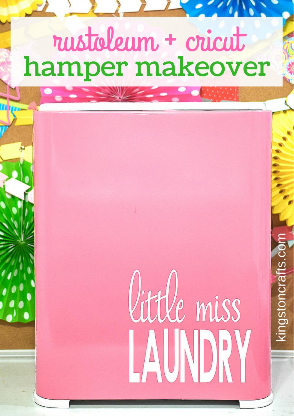 Little Miss Laundry Hamper