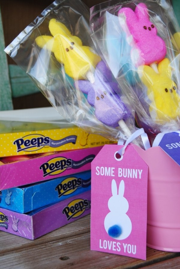 Some Bunny Loves You Tags from Reasons to Skip the Housework free easter printables
