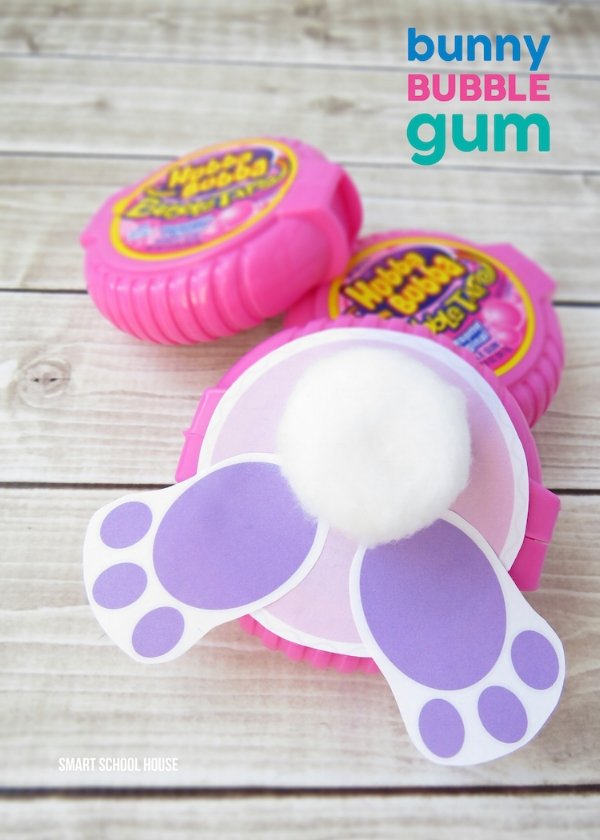 Bunny Bubble Gum from Smart School House free easter printables