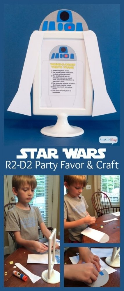 Greatest party craft/favor ever! Star Wars! From attagirlsays .