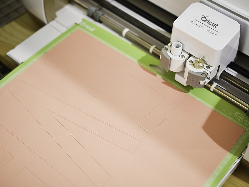 cut cardstock stencil with cricut explore