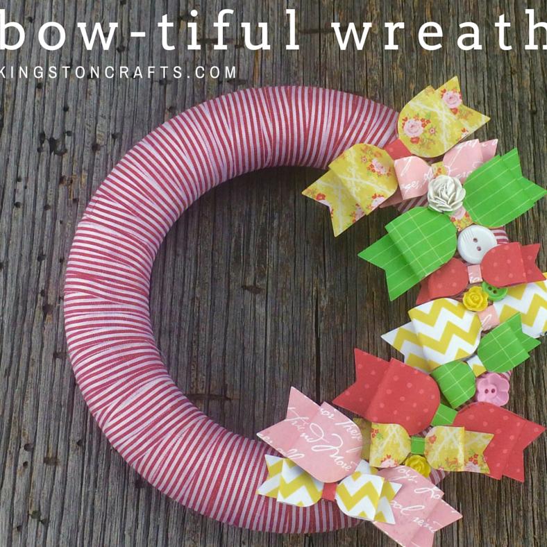 bow wreath kingston crafts