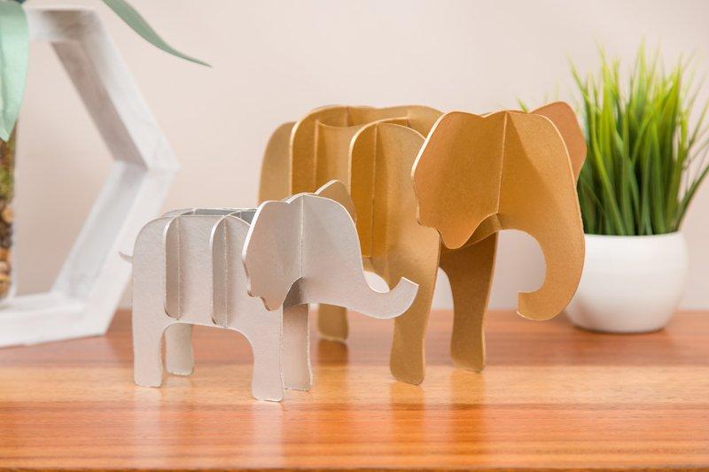 cricut elephant project