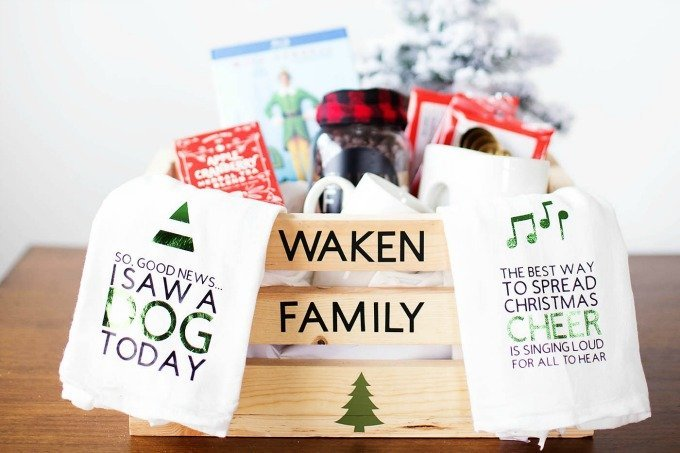 All For The Memories christmas gift basket