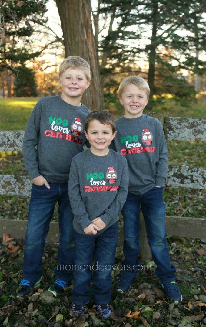 Mom Endeavors christmas shirts for kids