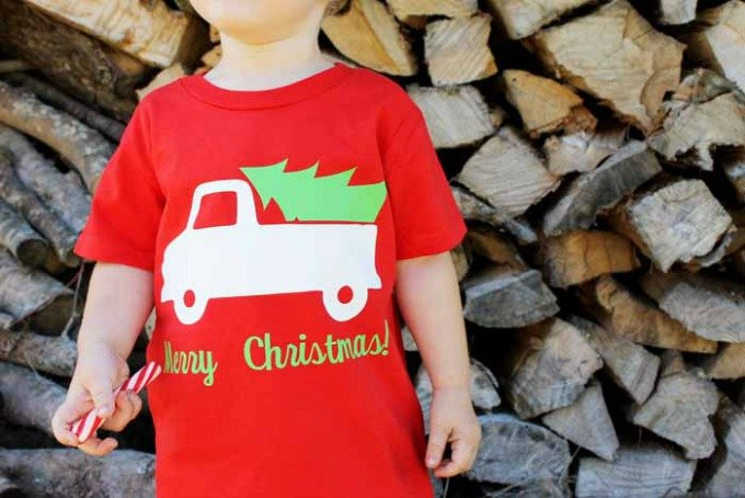The Country Chic Cottage christmas shirts for kids