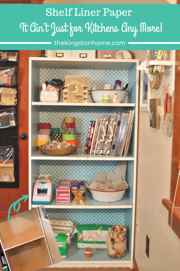 Shelf Liner Paper -  It Ain't Just for Kitchens Any More! - The Kingston Home