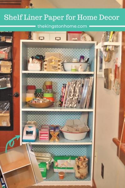 Shelf Liner Paper for Home Decor - The Kingston Home