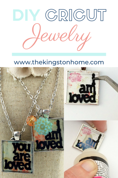 DIY Cricut Jewelry - The Kingston Home