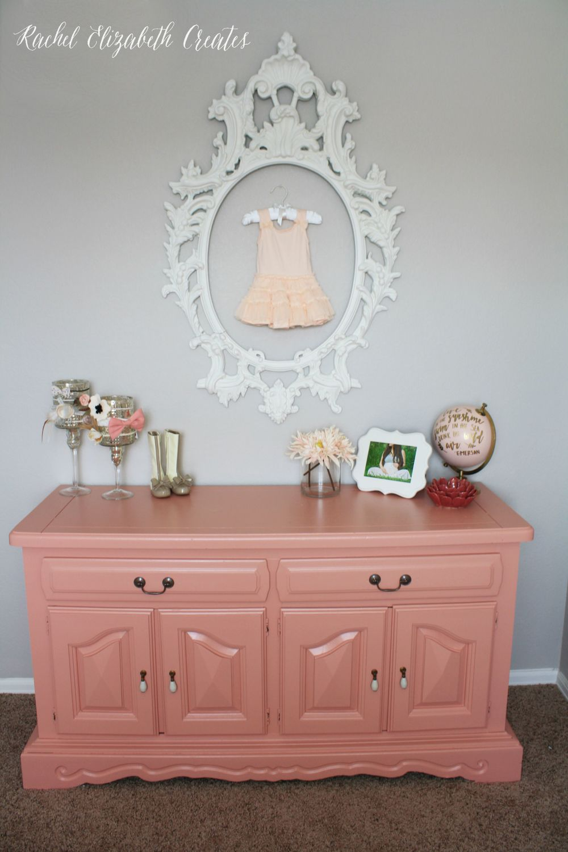 baby nursey room pink decor