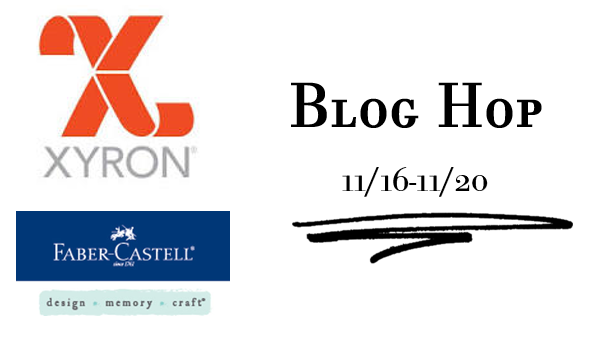 Xyron and Faber Castell Blog Hop
