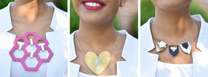 custom made necklaces with cricut
