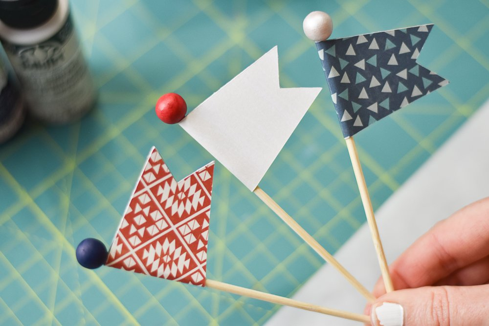cupcake pick flags