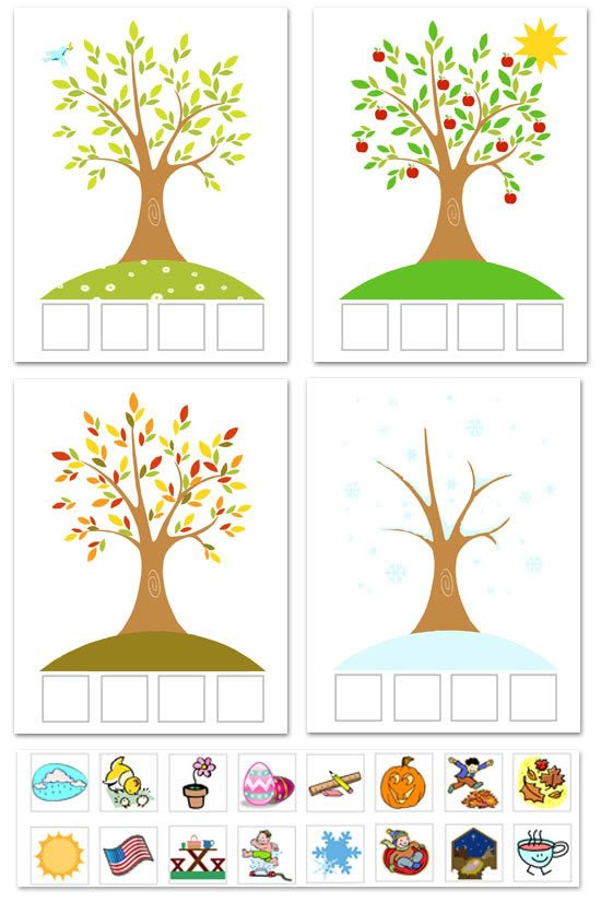 tree printable from A Year of FHE