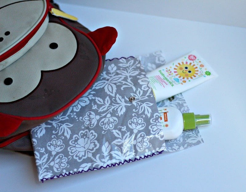 Laminated Pouches by The Organized Mama