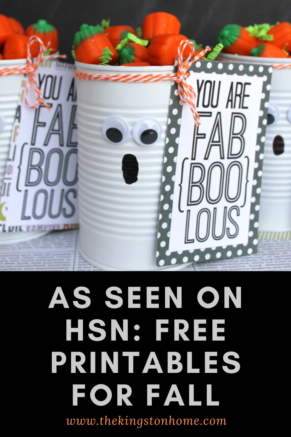 As Seen on HSN Free Printables for Fall - The Kingston Home: If you were watching HSN and wanted to learn more about the printables that you saw on air, then I have you covered! Below, I gathered up all of the printables that were featured during my segments and where you can go get them for yourself! via @craftykingstons