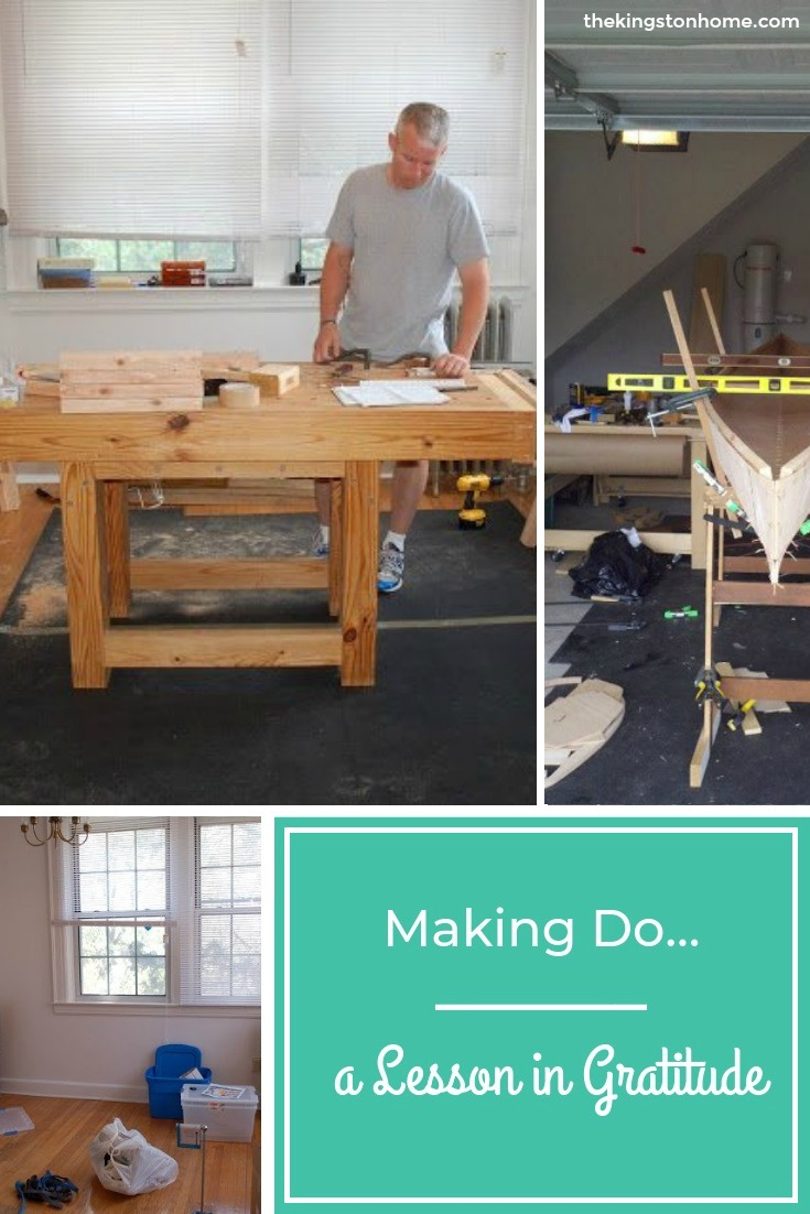 Making Do…a Lesson in Gratitude - The Kingston Home: A lesson in gratitude - A few weeks ago I posted about our pending move and saying goodbye to my studio, and reading my post now, apparently my biggest concern was what kind of space I'd have to work in when we got to Kansas. Ahhh...ignorance truly IS bliss. via @craftykingstons