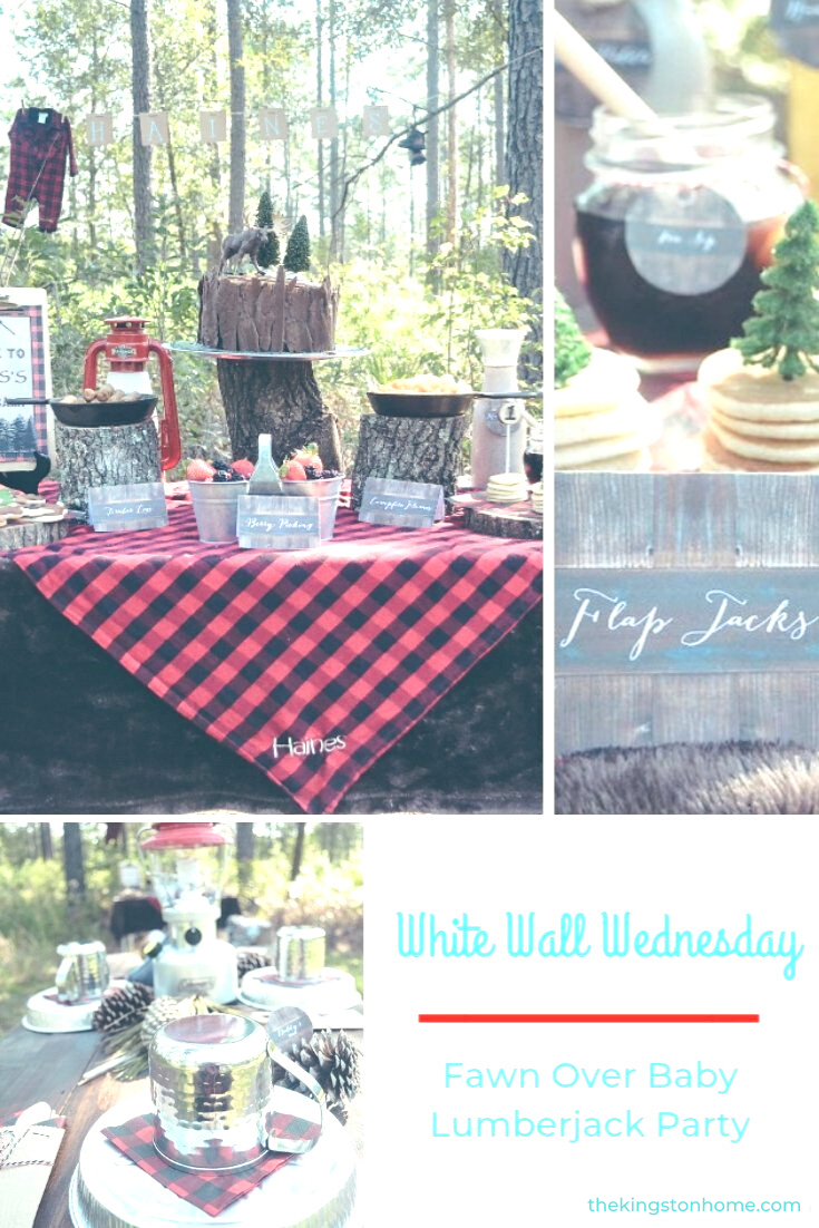 White Wall Wednesday Fawn Over Baby - The Kingston Home: White Walls is an online community dedicated to helping military families make home wherever Uncle Sam sends them. Every Wednesday I will be introducing you to a military spouse and sharing his/her creativity and a little bit about them. via @craftykingstons