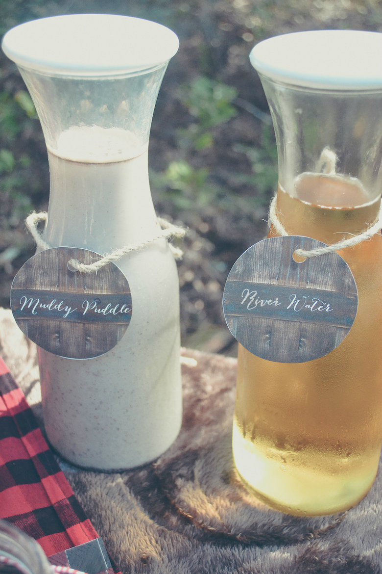 Fawn Over Baby outdoor lumberjack beverages