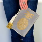 DIY Pineapple Clutch - The Kingston Home