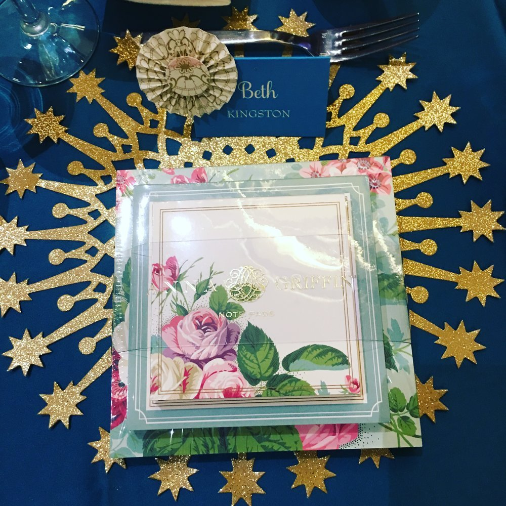Anna Griffin table setting