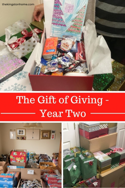 The Gift of Giving Year Two - The Kingston Home