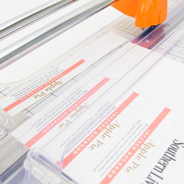print tags and trim them