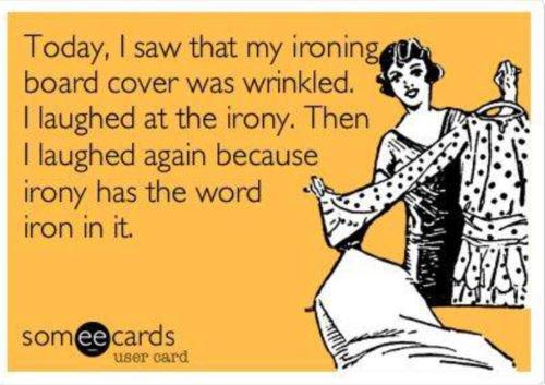 meme ironing image