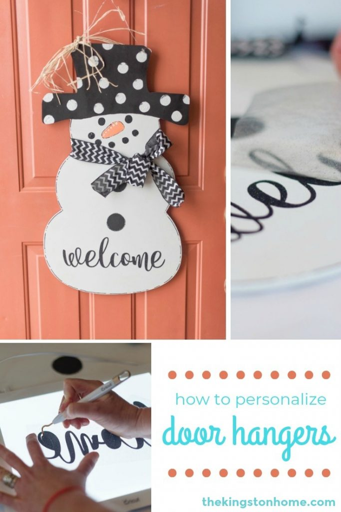 Personalized Door Hangers and How to Hang Them - The Kingston Home