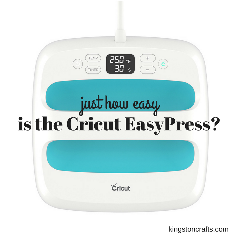 Just how easy is the Cricut EasyPress