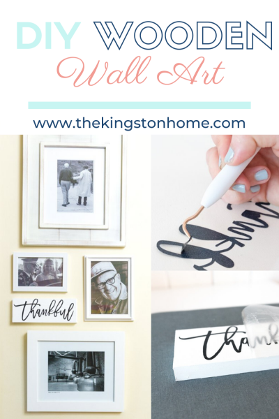 DIY Wooden Wall Art - The Kingston Home