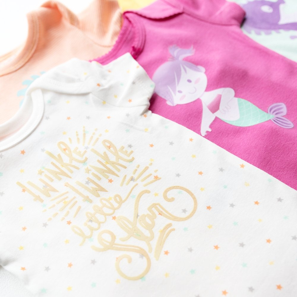 baby onesies made with cricut