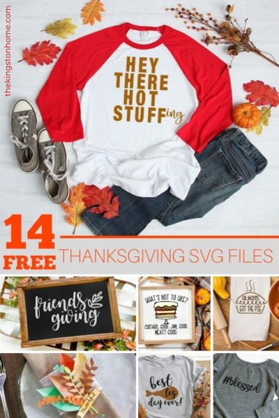 Free SVG Files for Thanksgiving - The Kingston Home