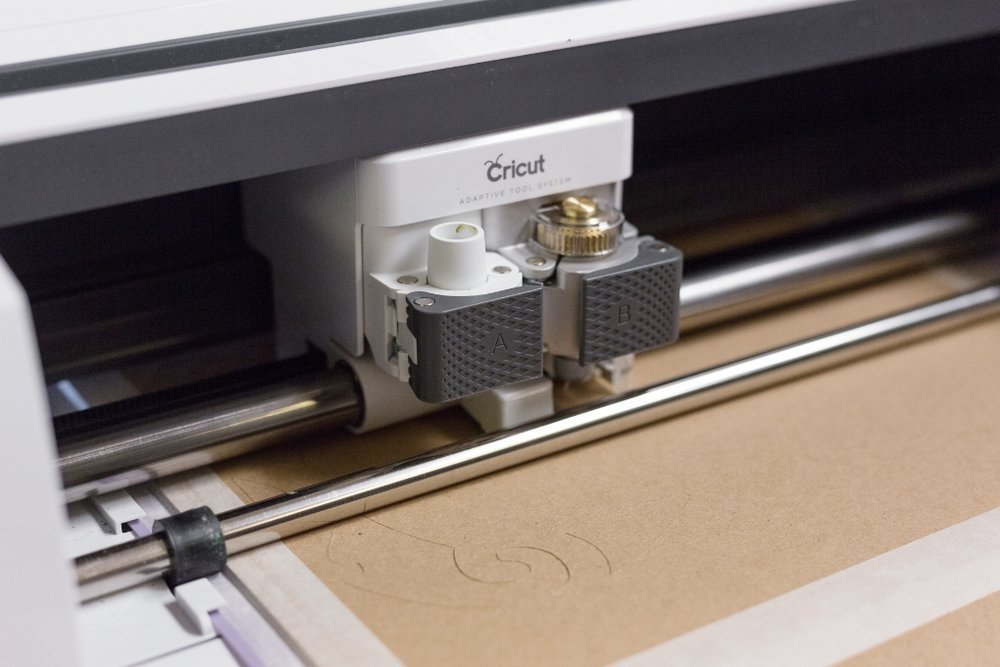cricut machine cutting chipboard