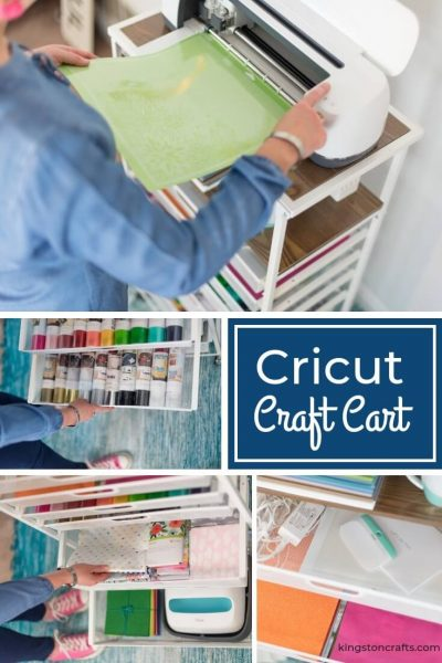 Cricut Craft Cart from Origami - Kingston Crafts