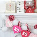 DIY Valentine's Day Garland- Kingston Crafts