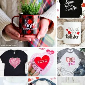 Free SVG Files for Valentine's Day - Kingston Crafts