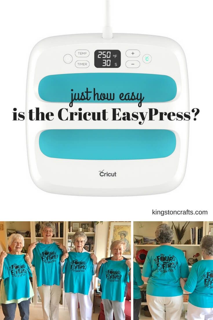 Just How Easy is the Cricut EasyPress? - The Kingston Home: If you love Cricut but are a bit skeptical about the brand new EasyPress, then this post is for you! Today, I am talking about what makes the EasyPress unique and how it will be your new must-have craft tool! via @craftykingstons