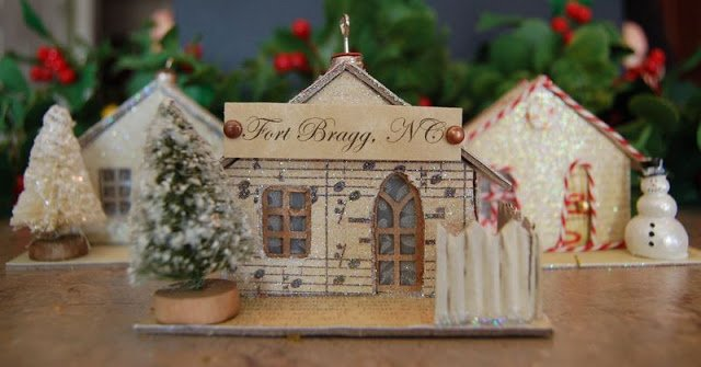 Melissa Frances Chipboard Christmas Houses