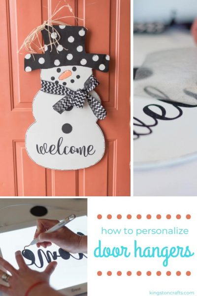 Personalized Door Hangers and How to Hang Them - Kingston Crafts