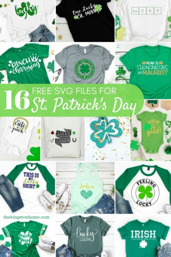 16 Free SVG Files For St. Patrick's Day - The Kingston Home