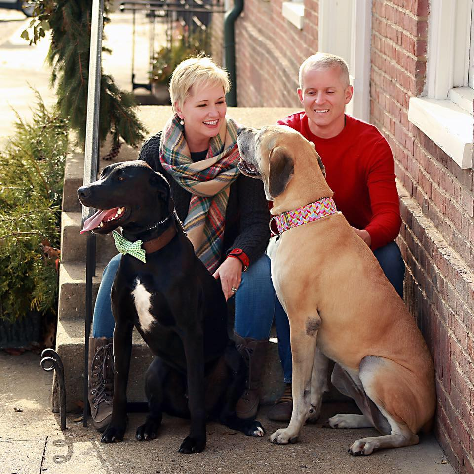 Beth Don and dogs - Kingston Crafts