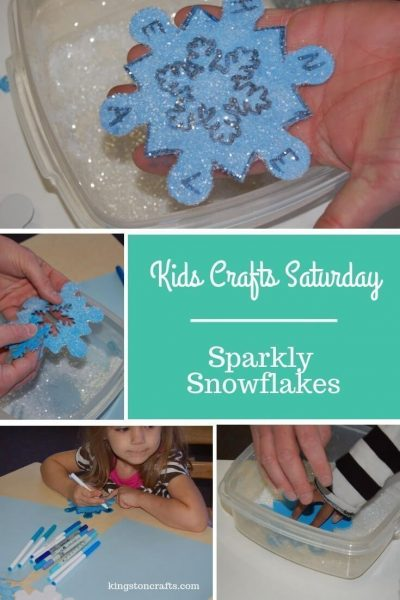 Sparkly Snowflakes – Kids' Crafts Saturday - Kingston Crafts