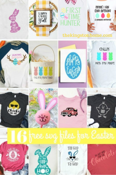 16 Free SVG Files For Easter - The Kingston Home