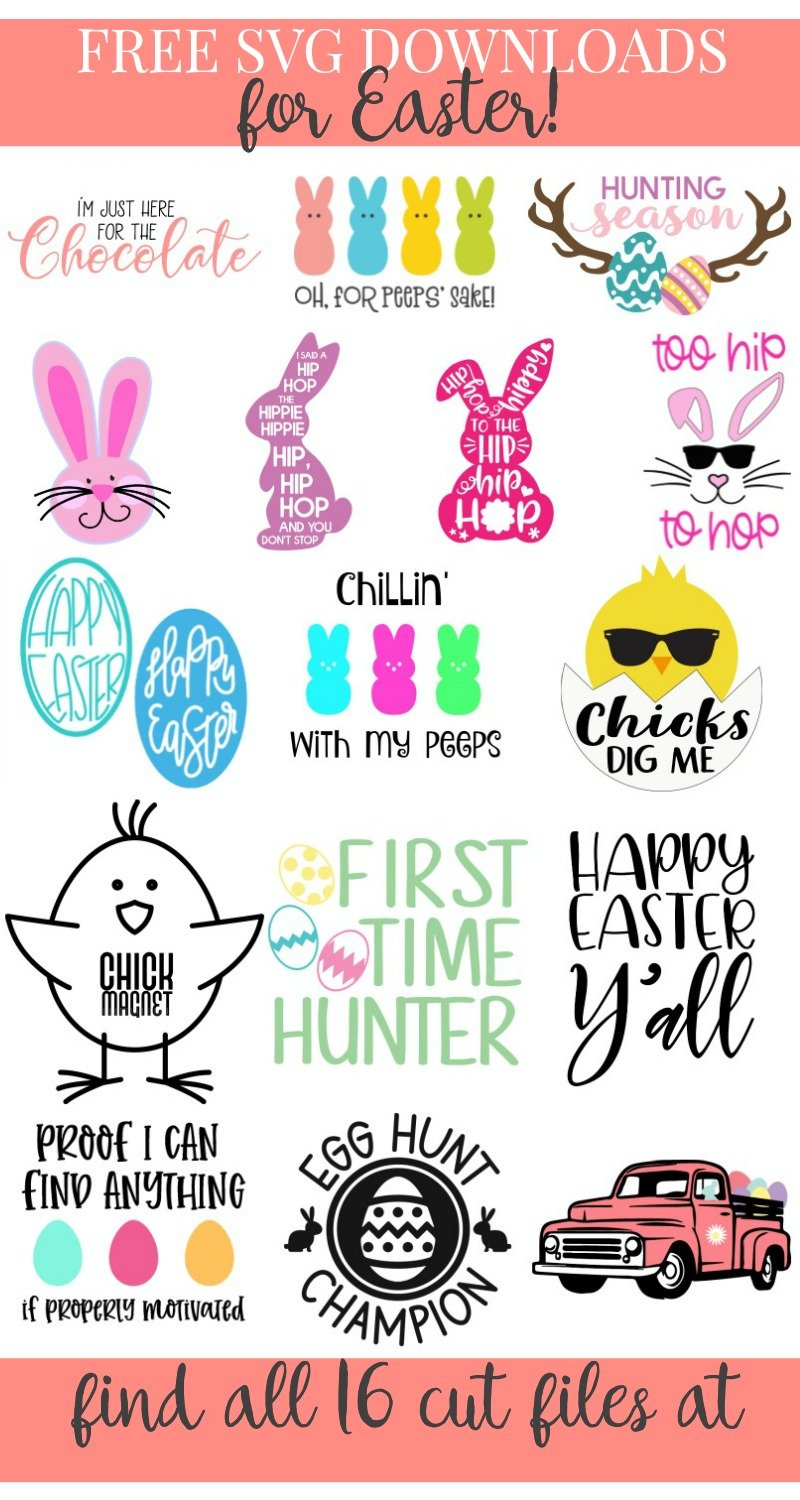 free Easter svg downloads