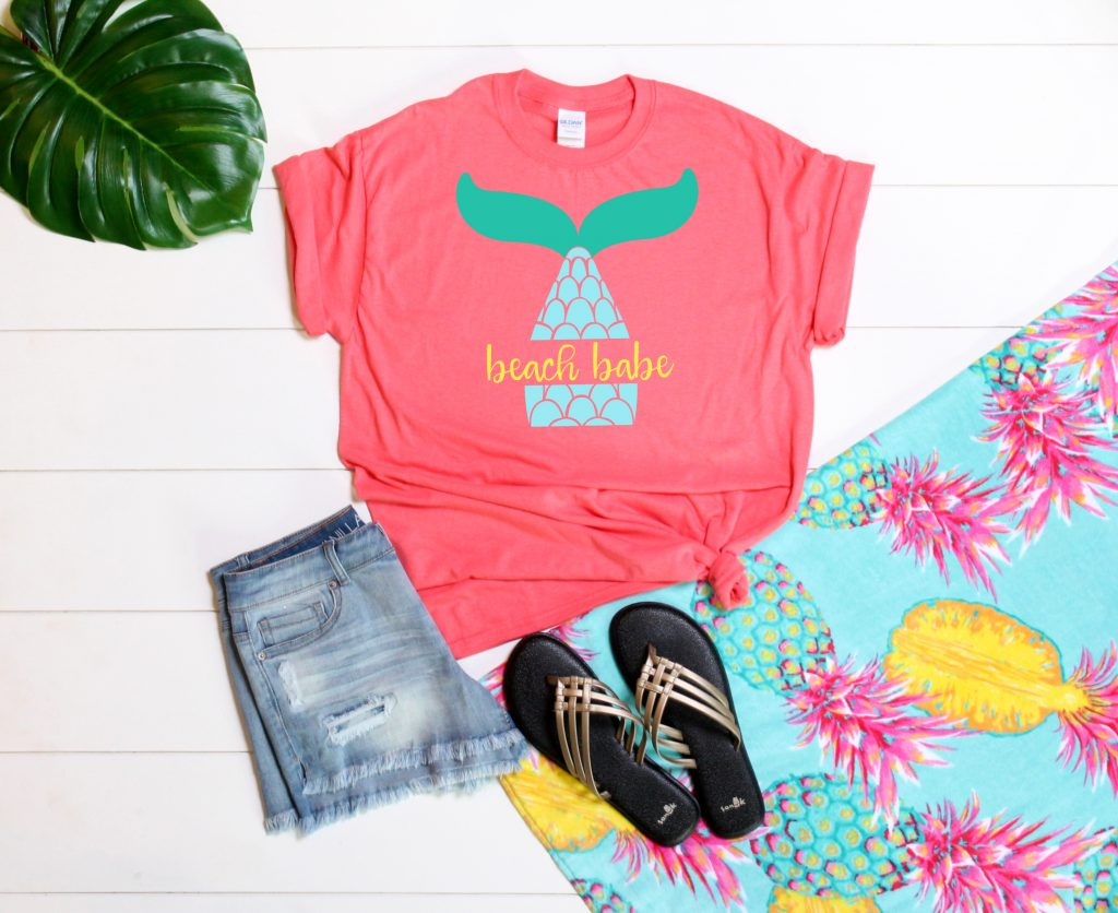 Beach Babe t-shirt - Kingston Crafts