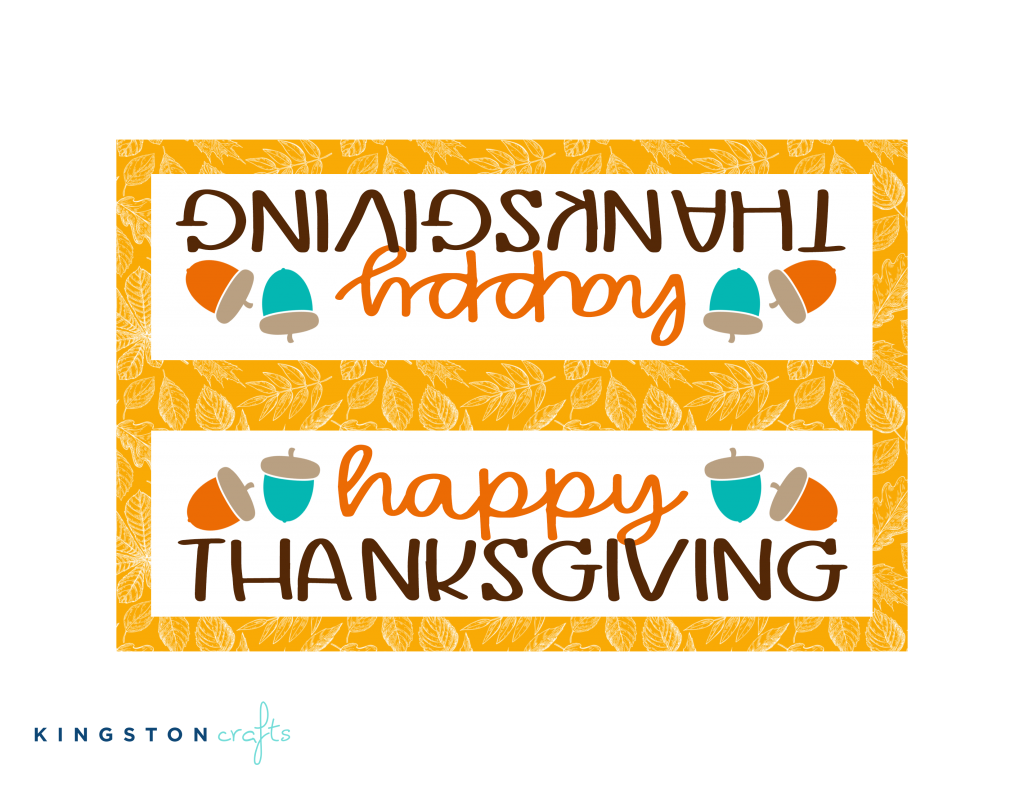 happy thanksgiving free printable gold