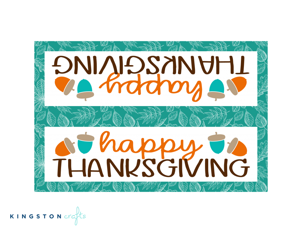 happy thanksgiving free printable teal